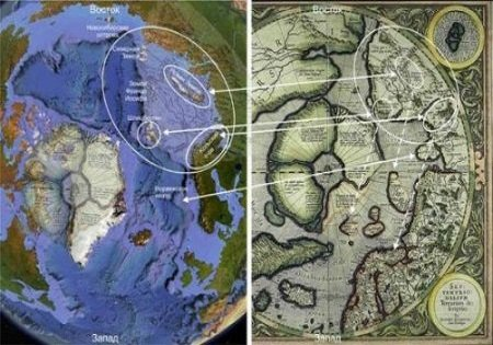 Загадка карты Меркатора 1538 года