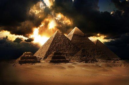 Аномалии пирамиды
